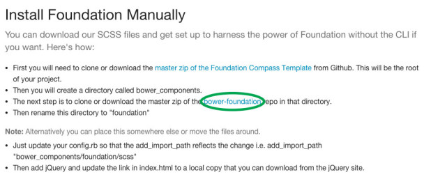 Download Bower Foundation.